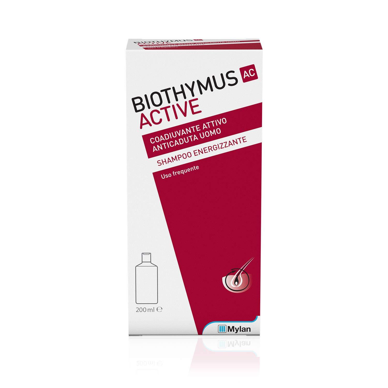 Amazon Com Biothymus Ac Active Uomo Shampoo Energizzante 200ml For Reduce Hair Loss For Men Beauty