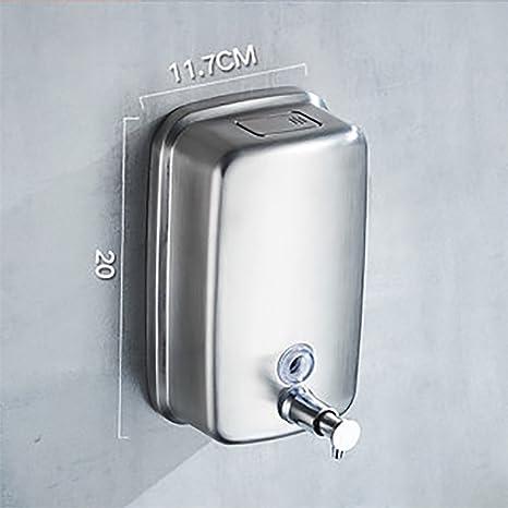 Jabón, dispensador de pared Dispensador de acero inoxidable ...