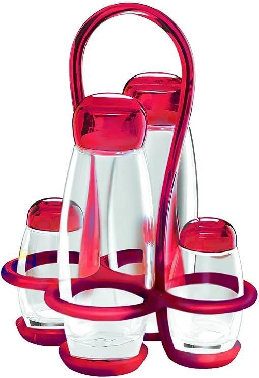 0.9 liters Guzzini 5460133 Bo/îte repas avec set de couverts