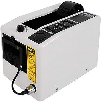 se adapta a un ancho m/áximo de cinta de 50 mm cortador de corte de cinta adhesiva longitud m/áxima de corte de cinta de 999 mm S SMAUTOP Dispensador autom/ático de cinta