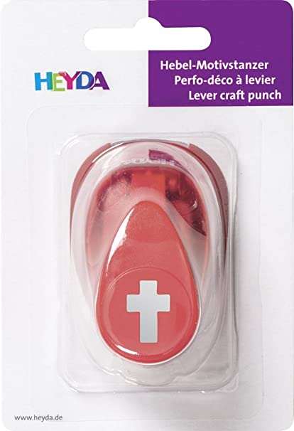 HEYDA Craft Punch 16 mm Cross #87445