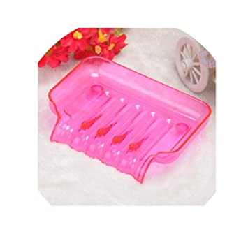 Bathroom Shower Soap Box Dish  Plate Tray Holder Case Soap container suction