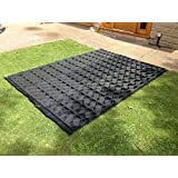 6x4 GARDEN SHED BASE GRID = FULL ECO KIT 2.1m x 1.2m + HEAVY DUTY MEMBRANE PLASTIC ECO PAVING BASES & DRIVEWAY GRIDS