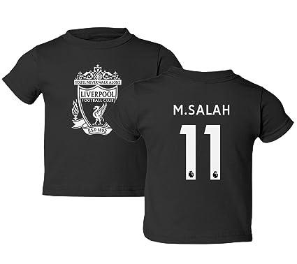 099d73b79 Tcamp Liverpool  11 Mohamed SALAH Premier League Little Kids Girls Boys  Toddler T-Shirt