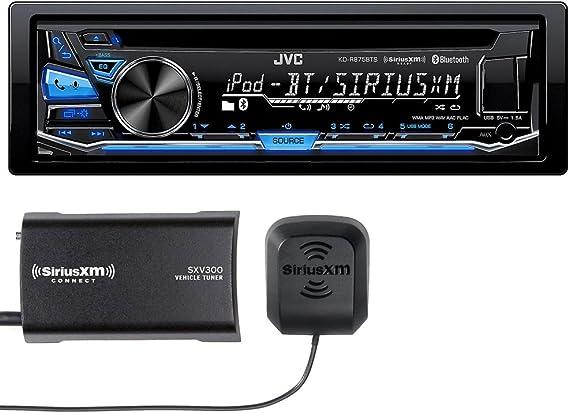 JVC KD-R875BTS CD with SXV300 Sirius XM Tuner