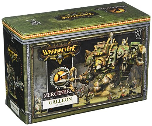 Privateer Press - Warmachine - Mercenary: Galleon Colossal Model Kit 3