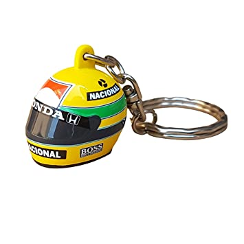 Minichamps Ayrton Senna 3D Llavero Casco 1988: Amazon.es ...