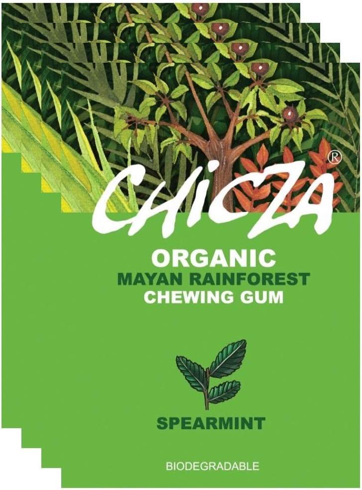 Chicza Chewing Gum - Spearmint - 10 x 30g: Amazon.es: Salud y ...