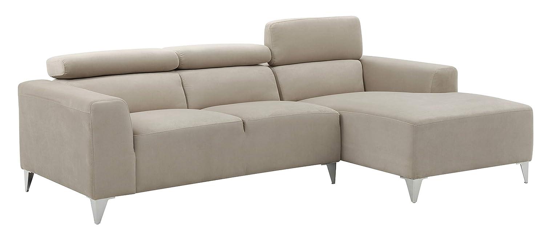 Amazon.com: Glory Furniture Italia G191-SCH Sectional, Wheat. Living ...