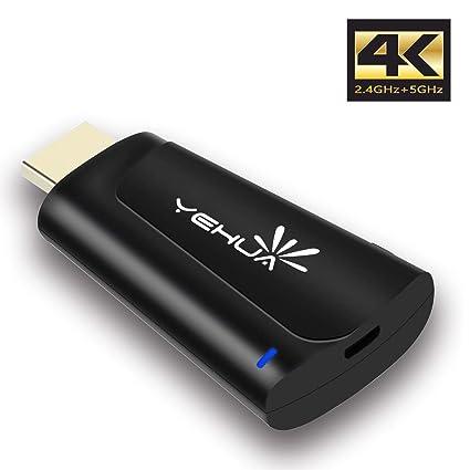 Amazon com: EZcast 2 4G+5G WiFi Wireless Display Dongle HDMI Adapter