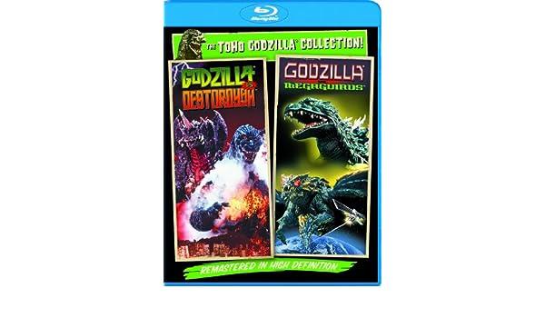 Godzilla Vs Destoroyah / Godzilla Vs Megaguirus 2 Blu-Ray ...