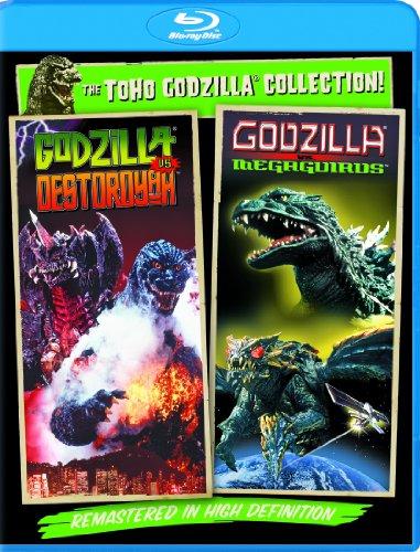 Godzilla Vs. Destoroyah / Godzilla Vs. Megaguirus: The G Annihilation Strategy - Set [Blu-ray] (Miniature Dragonfly)