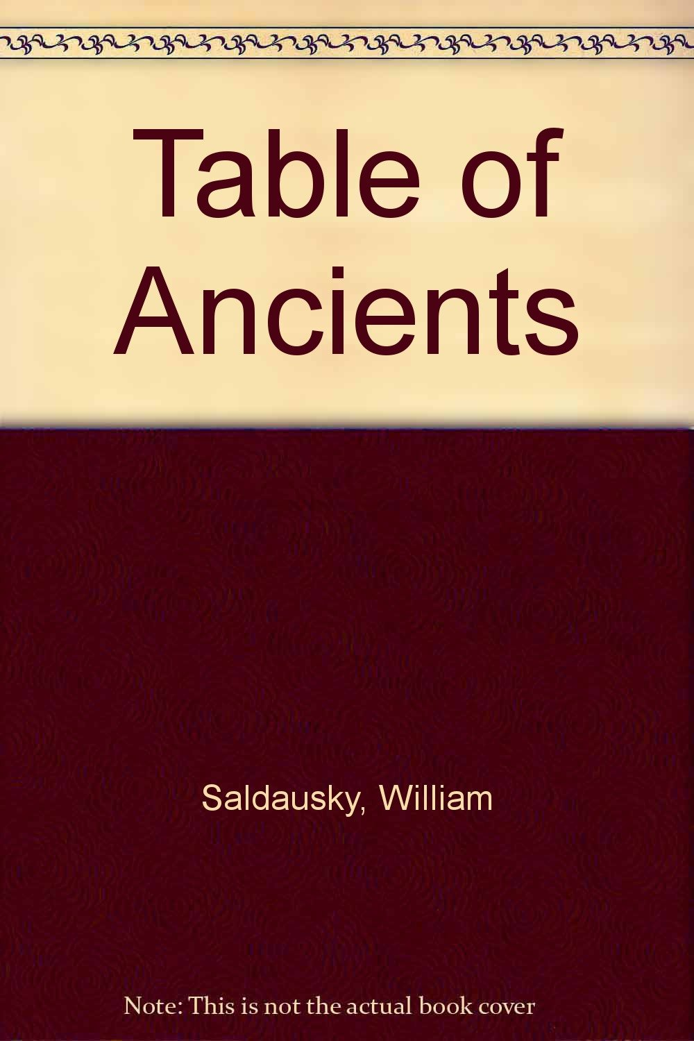Table of Ancients pdf