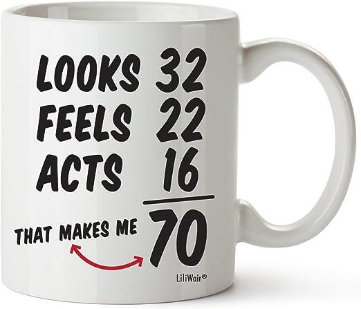 Amazon.com: Regalos de 70 cumpleaños para mujeres de 60 años ...