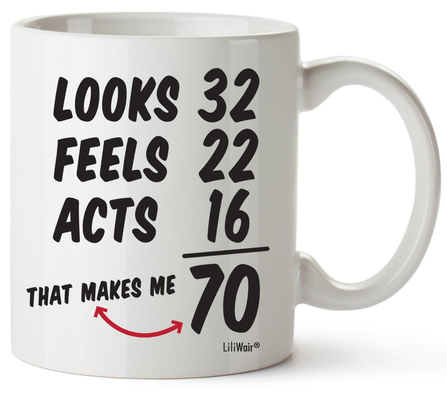 70th Birthday Gifts For Women Seventy Years Old Men Gift Mugs Happy Funny 70 Mens Womens Womans Wifes Female Man Best Friend 1949 Mug Male Unique Ideas 49