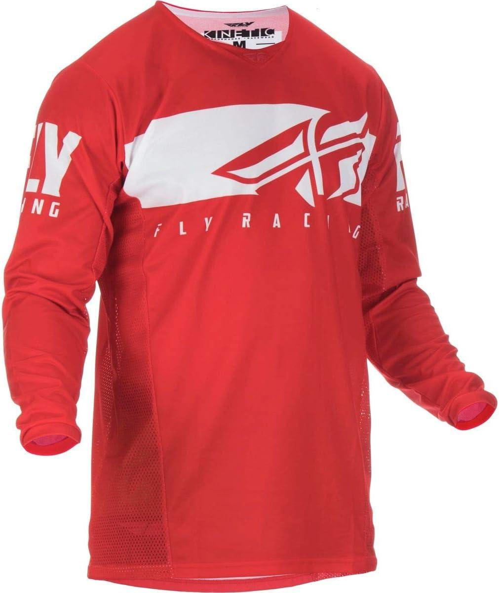 Fly Racing 2019 Youth Kinetic Jersey Shield X-Large Navy//HI-VIZ