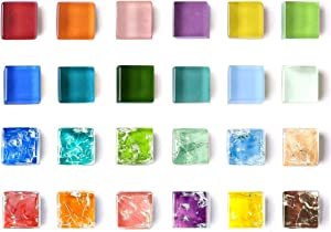 MOHENA Magnets for Fridge, Cute Fridge Magnets Small Refrigerator Magnets, Locker Decorative Magnets Glass Colorful Mini Magnets for Whiteboard Kitchen Office Magnets - 24 Color