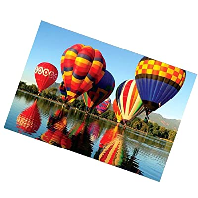 Jigsaw Puzzles 1000 Pieces for Adults, Hot Air Balloon Puzzles Puzzle Play Puzzle Play Brain Teasers Puzzles for Teens: Toys & Games [5Bkhe1105024]