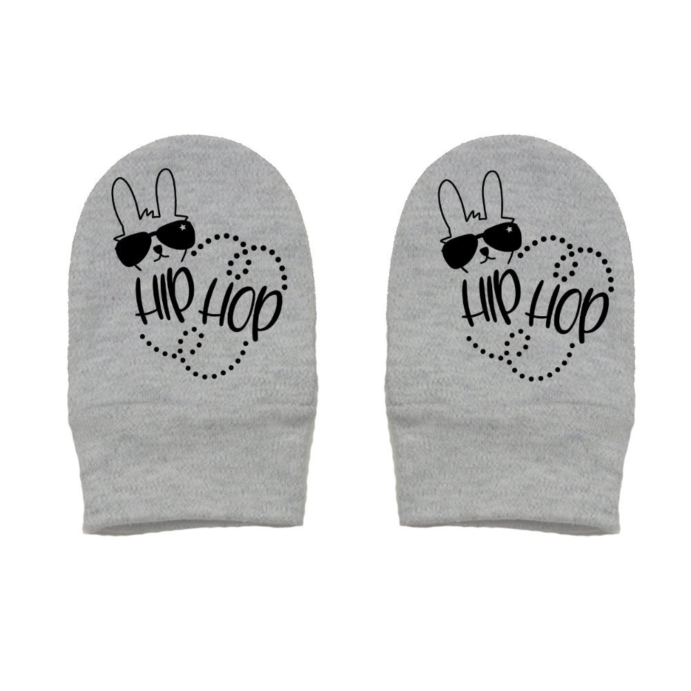 Easter Thick /& Soft Baby Mittens Hip Hop Mashed Clothing Unisex-Baby Bunny with Shades and dots Thick Premium