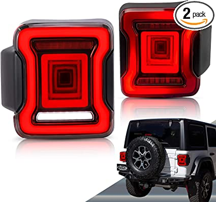 VLAND LED Tail lights for Jeep Wrangler JL JLU 2018 2019 (Not Fit JK) on smoke detector schematic, smoke detector battery diagram, smoke detector relay wiring, smoke detector clock, ionization fire detector diagram, smoke detector wiring 3-way, smoke detector relay box, smoke extraction system design, smoke detector spacing, smoke detector wiring two detecters, nec smoke detector placement diagram, smoke detector circuit diagram, smoke detector installation, how a smoke detector works diagram, smoke detector electrical wiring, smoke detectors and batteries, process flow diagram, smoke detectors system, smoke detector manual, smoke detector location requirements,
