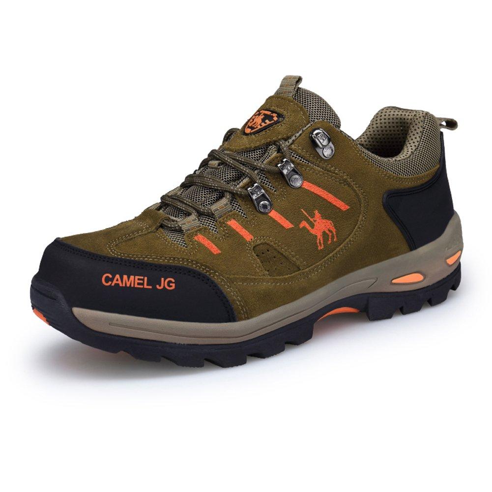 Kaki EU46 = longueur de pied convenable 10,83   GOMNEAR Hiker Chaussure de randonnée Hommes Chaussures de randonnée en Plein air