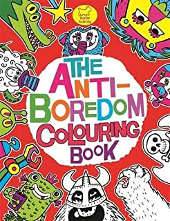 The Anti Boredom Colouring Book Buster Activity