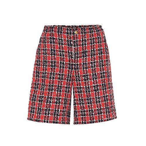 セラーオフェンス観察する(グッチ) Gucci レディース ボトムス?パンツ ショートパンツ Checked tweed shorts [並行輸入品]