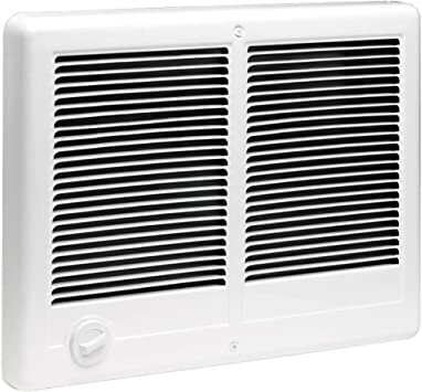 white 240V complete wall heater with thermostat Cadet CSC152TW Com-Pak 1500-Watt