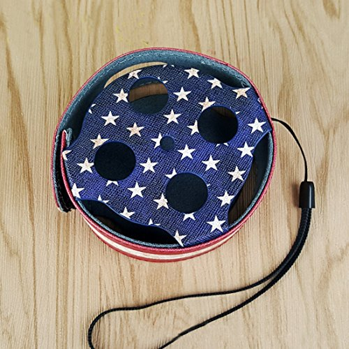 Leather Print Echo Dot Case Portable Protective Echo Dot 2nd Generation Case Cover