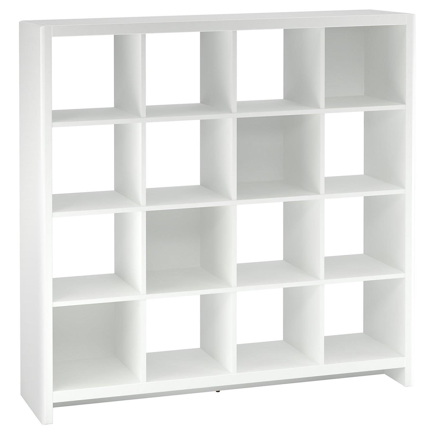 Kathy Ireland New York Skyline 16-Cube Bookcase/Room Divider