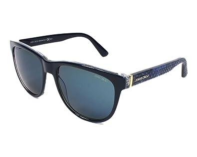 Amazon.com: Jimmy Choo anteojos de sol rebby Azul Python ...