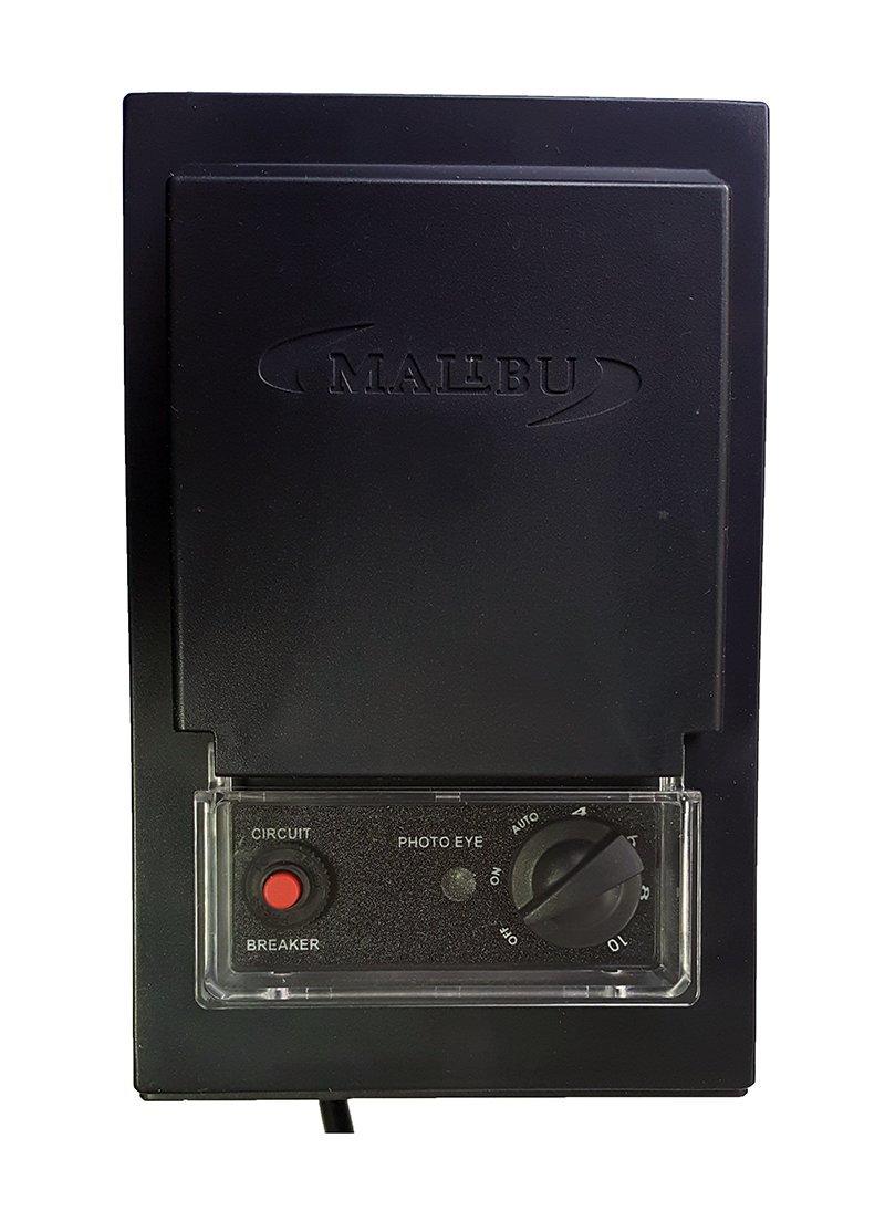 Malibu 3100-1150-01 150 Watt Low Voltage Transformer, Photo Eye Sensor and Timer