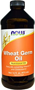 Now Supplements, Wheat Germ Oil with Essential Fatty Acids (EFA's), 16-Ounce