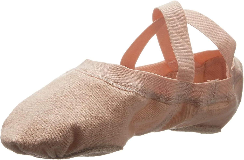 Bloch Womens S0625L Dance Womens Synchrony Split Sole Stretch Canvas Ballet Slipper//Shoe