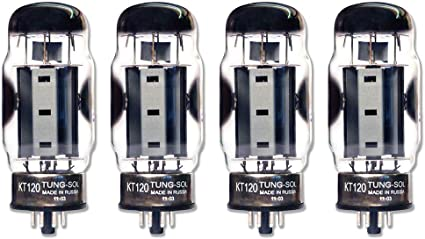 Tung Sol KT120 tubes BRAND NEW ! 4 tubes Matched Quads
