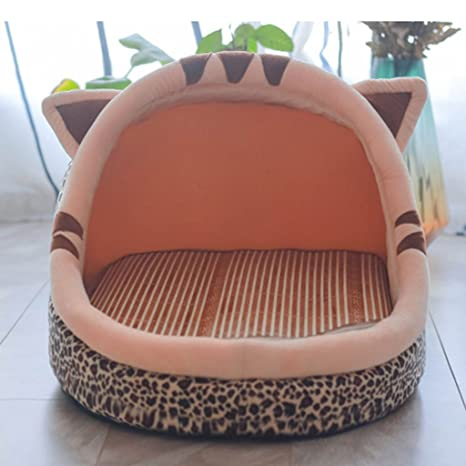 Cama de gato perrera de verano con almohadilla fresca cama para mascotas cama de perro pequeño ...