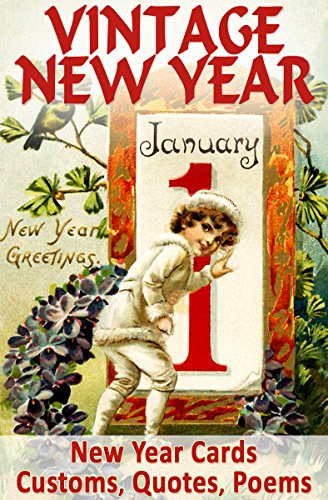 vintage new year cards customs quotes poems myths and legends