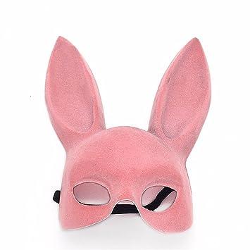 Máscara de Conejo máscara de Conejo de año Nuevo máscara de Conejo, Rosa