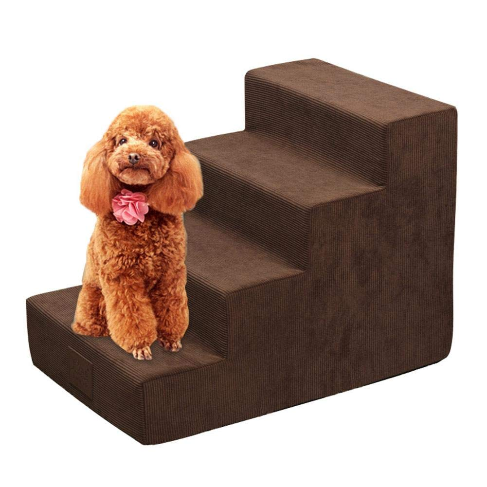 COREYCHEN Dog Stairs Cars Stairs gate Stairs for Bed Dog Stairs for Sofa Dog Stairs for Small Dogs Dog Stairs ramp Dog Stairs Grey Dog Stairs CORESUFUY