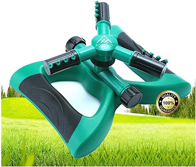 Garden Impact Sprinkler Lawn Grass Adjustable Rotating Water Sprayer Irrigation