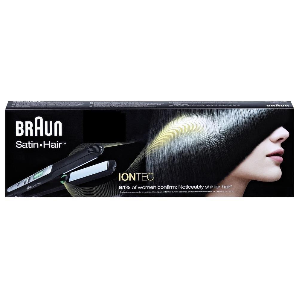 Braun Satin Hair 7 ES2 alisador de cabello/plancha para el pelo (Tecnología de iontec para obtener pelo): Amazon.es: Salud y cuidado personal