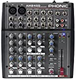 PHONIC AM 240 D mixer audio 10 canali con effetti per studio, live, karaoke