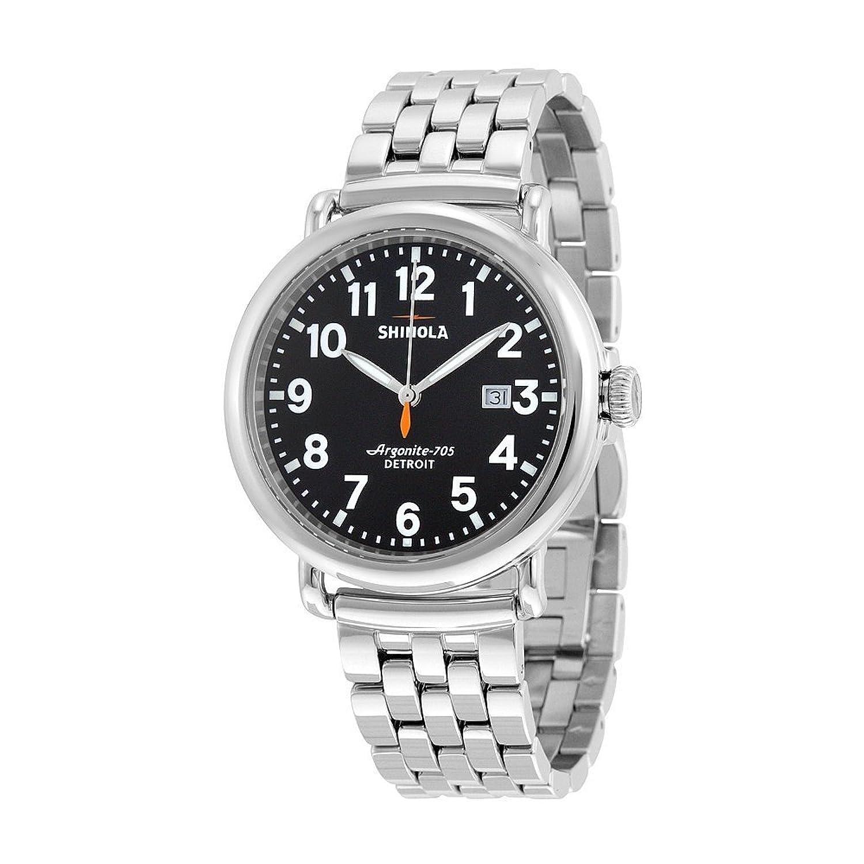 shinola die runewell s0100053 Edelstahl Quarz Herren-Armbanduhr