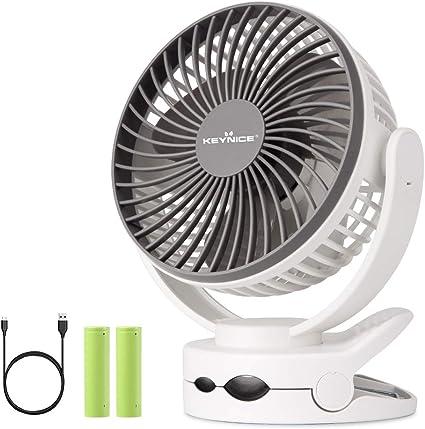 KEYNICE 扇風機 usb 卓上扇風機 充電式 ミニ扇風機