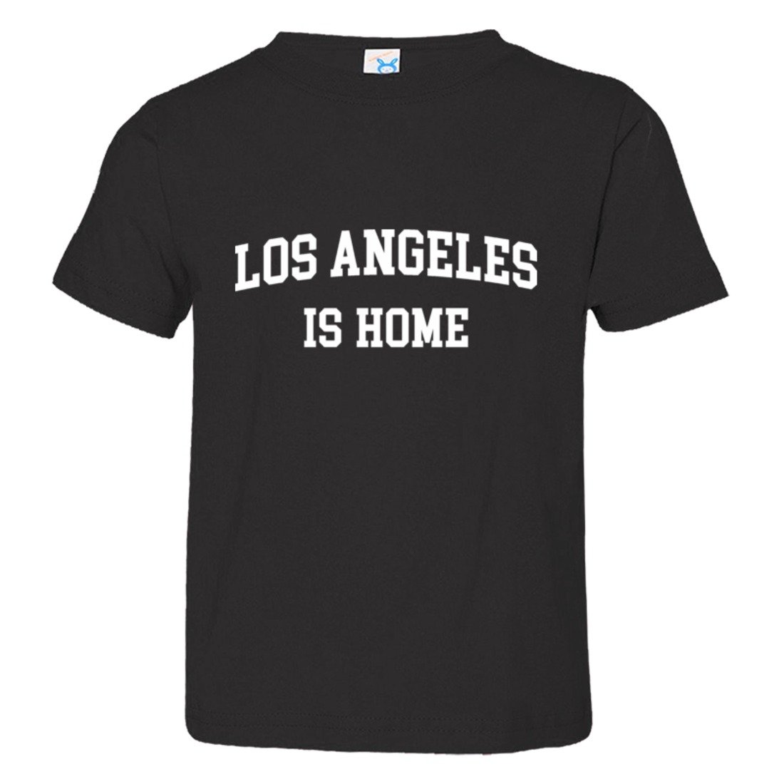 Toddler Los Angeles California is Home Born in from HQ Tee Shirt