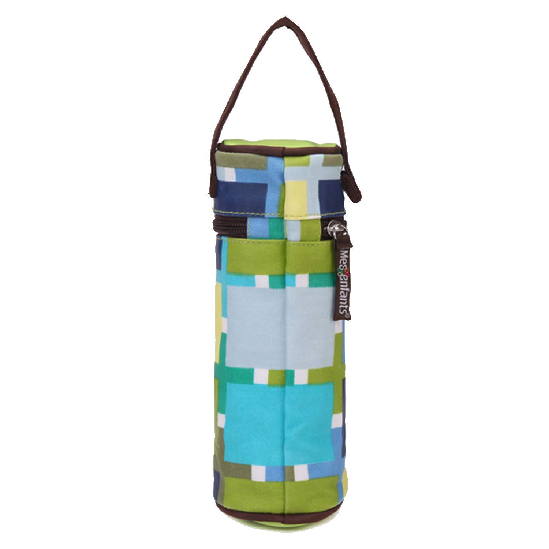 Gosear Baby Bottle Bag Baby Bottle Warmer Bag 21x7.5cm Portable Infant Newborn Baby Bottle Insulation Warmer Bag with Handle for Home Travel Outside