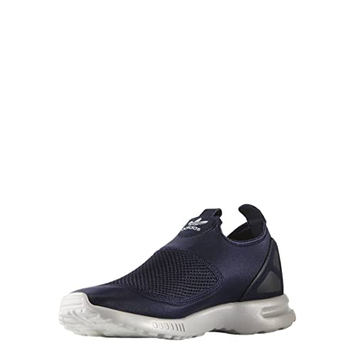 buy online 37de5 7bb42 Adidas - ZX Flux Adv Smooth Slip ON - S78958 - Color  Azul marino-Blanco -  Size  44.0  Amazon.es  Zapatos y complementos