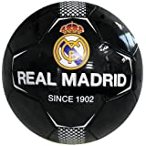 Real Madrid F.C. RM05940 Balón de fútbol, Negro, 5: Amazon.es ...