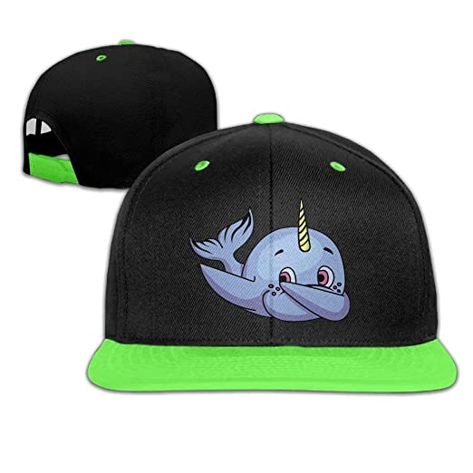 9e64257d0c9 HATS-1 Cool Dabbing Dance Dab Narwhal Kids Baseball Caps Gym Travel ...