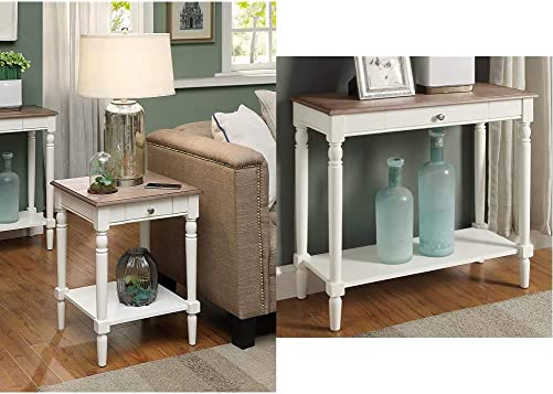 Best living room table: Convenience Concepts French Country End Table